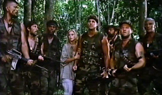 Robowar - The Whole Cast in the Jungle