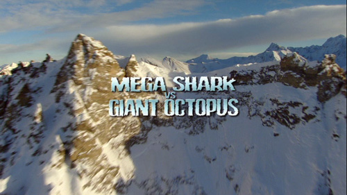 Mega Shark vs Giant Octopus - Opening Title