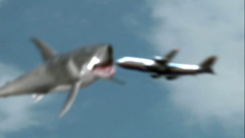 Mega Shark vs Giant Octopus - Shark Eats Plane