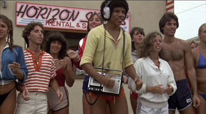 "Roller Boogie - Stoney Jackson as ""Phones"""