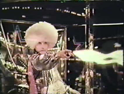 Skatetown USA - Denny Johnston as the Wizard/DJ