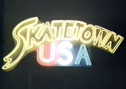 Skatetown USA - Sign