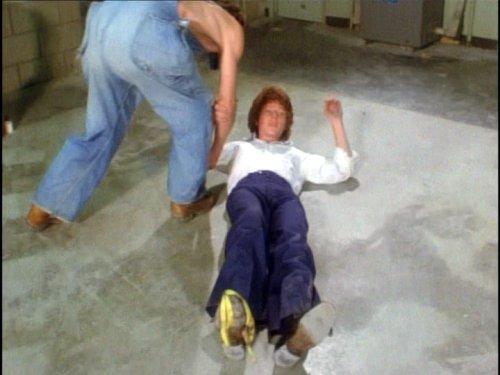 The Van (1977) - Banana Slip Gag