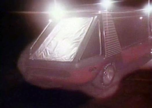 Supervan all lit up!