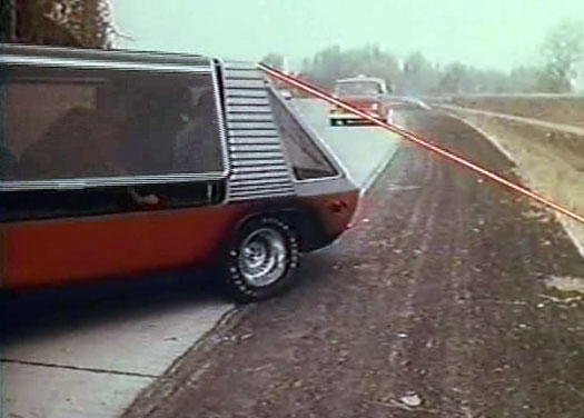 Supervan actually shoots lasers