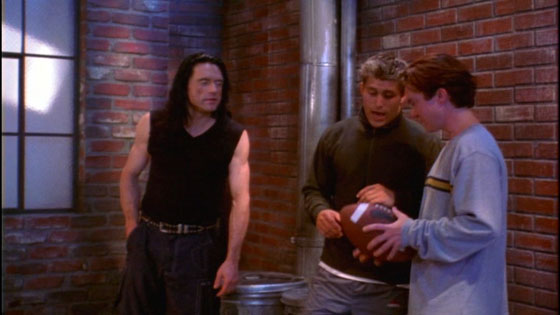 The Room - Tossing the Football