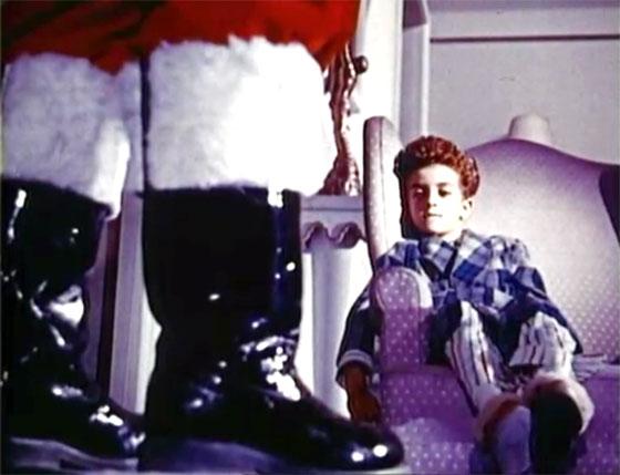 Mexican Santa Claus - boots