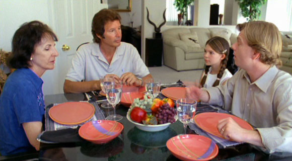 Neil Breen sits down for dinner.
