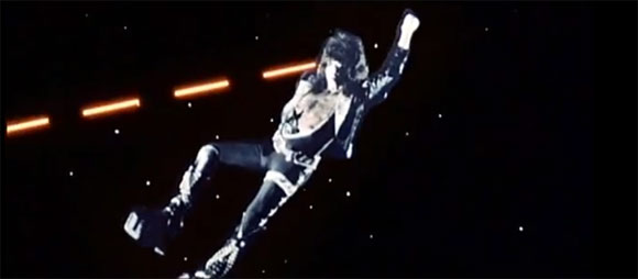 KISS Starchild Laser Eyes