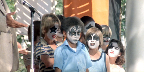 KISS Face Paint Contest