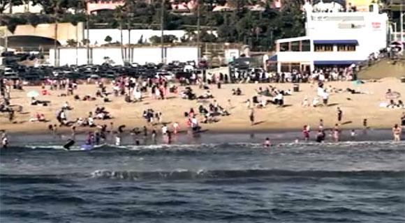Beach Goers in Sharknado
