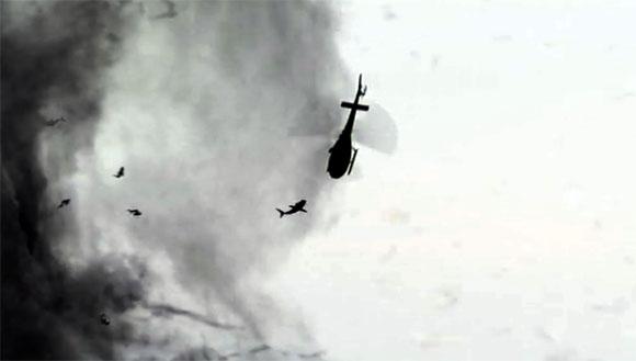 Helicopter Sharknado
